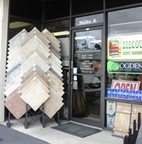 Odgen Flooring Center Entrance